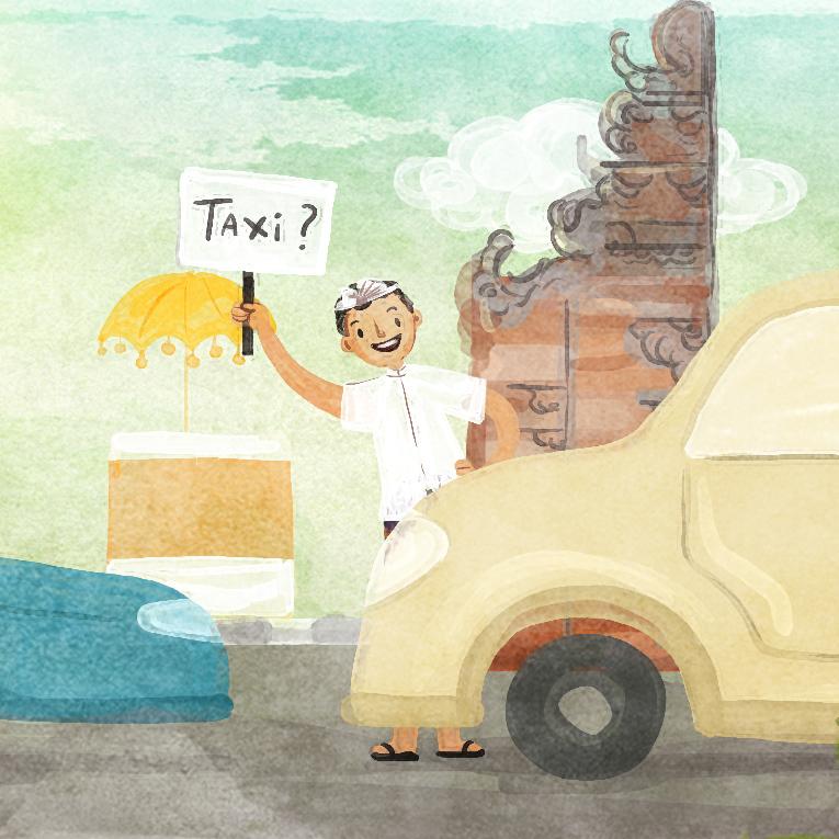 Axioo: Bali Taxi
