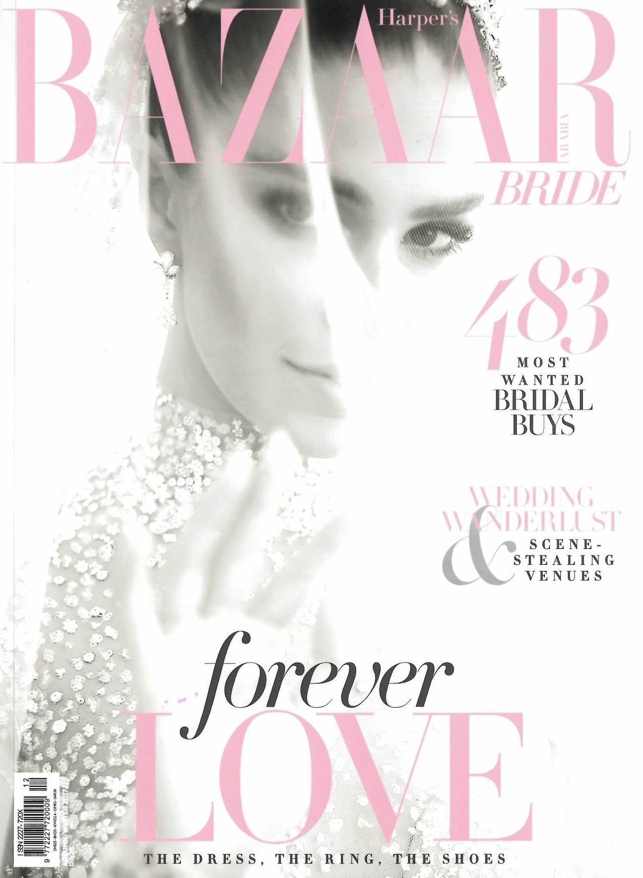 Axioo: Harper's Bazaar Arabia; Winter 2017